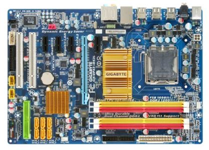 GIGABYTE MB Sc 775 EP43-DS3L, Intel P43