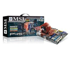 MSI MB Sc 775 P45 PLATINUM, Intel® P45 Chipset, 4xDDR2