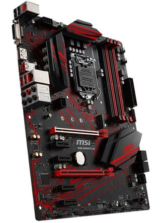 MSI MSI MB Sc LGA1151 B360 GAMING PLUS, Intel B360, VGA, 4xDDR4