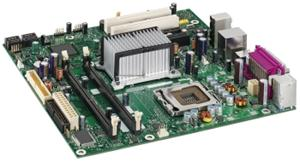 NEWBERRY LAKE BLK µATX FSB1066 DDR2-667 VGA+PCIe16 Gigabit LAN