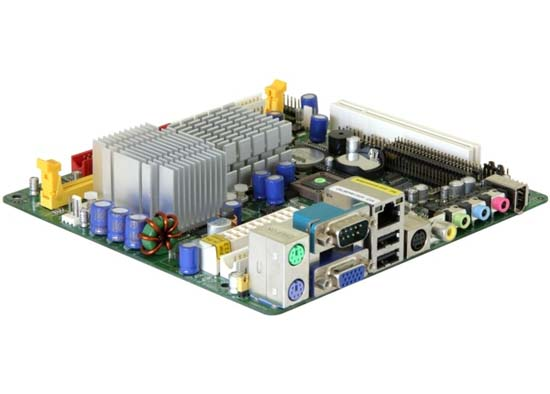 Motherboard Jetway J7F2WE1G5D 1500MHz Mini-ITX