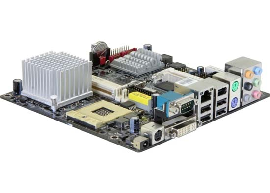 Motherboard AOpen i945G Tt-VFA Core Duo Mini-ITX